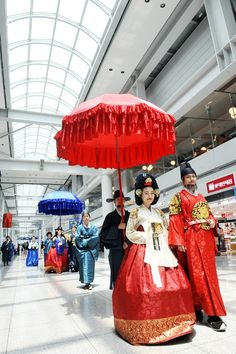 Mystic Korea: Incheon Airport becomes 'Cultureport'. This is the airport I want to fly into!