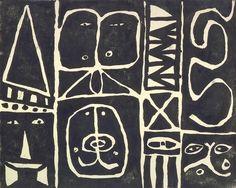 Adolph Gottlieb (1903 -1974) ●彡
