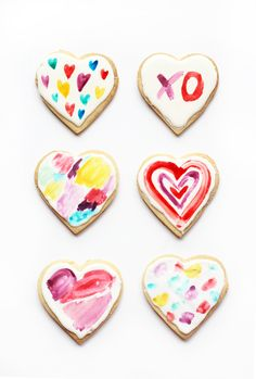 I have a post that will make you smile today. If it doesn't then you're dead on the inside. Whether you love or hate Valentines Day you can't deny your love for these pretty watercolour heart-shaped sugar cookies. This project marked a few firsts for me – first time successfully making sugar cookies and royal … Read More →