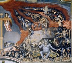 Are you afraid ? Can you tell us the story of this amazing fresco ?