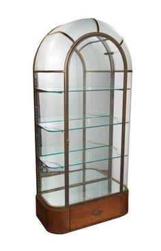 FRENCH ART DECO VITRINE C. 1920 : Lot 227. I would love to put my husband's action figures in here.