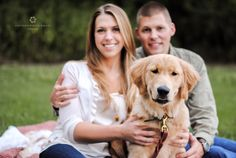 Puppy Engagement Sessions are the best! :) Cottonwood Road Photography.