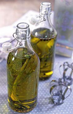 Aromatizar los aceites...ideal para las ensaladas ahora que llega el buen tiempo. ¿Buena idea verdad?