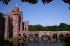Herstmonceux Castle by Alan1954, via Flickr. Herstmonceux is renowned for its magnificent moated castle, set in beautiful parkland and superb Elizabethan gardens. Built originally as a country home in the mid- 15th - century, Herstmonceux Castle embodies the history of Medieval England and the romance of Renaissance Europe
