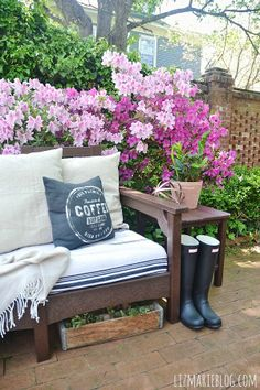 Lovely spring patio