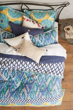 Crackled Batik Quilt #anthroregistry