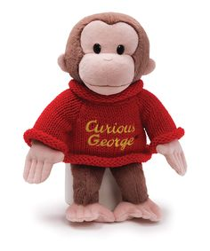 Curious George on #zulily!