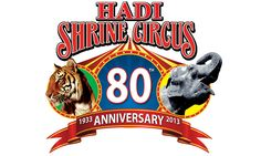 An Evansville Thanksgiving Tradition for 80 years! Don't miss the Hadi Shrine Circus!