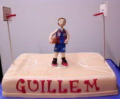 La Ventana Dulce: Tarta Baloncesto (Basquet)