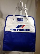 Vintage Air France Airline Travel Bag Carry On Tote Bag Airplane Aviation French