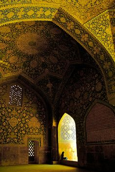 Jame Mosque of Isfahan, Iran Iran Traveling Center irantravelingcent... #iran #travel #traveltoiran