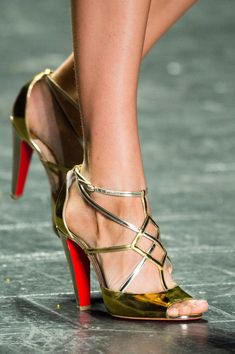 8bb09262e Naeem Khan at New York Spring 2017 (Details) Naeem Khan, Prom Shoes,