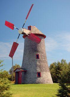 Moulin à vent | Saint-Jean-Port-Joli, Québec