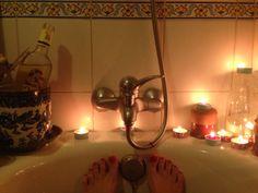 DIY: Baño romántico!