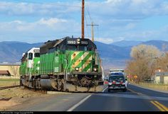 RailPictures.Net Photo: BNSF 1993 BNSF Railway EMD SD40-2 at Fort Collins, Colorado by BUFFIE