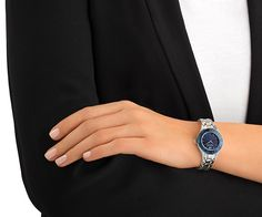 Designed with our unique faceted crystal bezel, this on-trend and stylish timepiece injects subtle sparkle into any everyday outfit. The case and... Shop now
