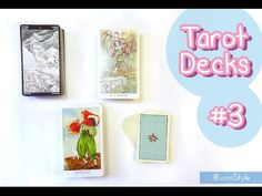 Hi Friends~ I'd like to share with you my first impressions of some decks I received from my first Amazon order: Manga Tarot, Paulina Tarot, Dreaming Way Tarot & Pixie's Astounding Lenormand ♥.