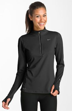 Nike 'Element' Half Zip Top available at #Nordstrom