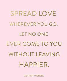 spread love and joy