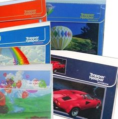 Keeping your homework and papers organized in your awesome (and essential) Trapper Keeper