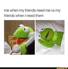 Find images and videos about funny, life and friends on We Heart It - the app to get lost in what you love. Funny Kermit Memes, Really Funny Memes, Stupid Funny Memes, Funny Relatable Memes, Funny Texts, Funny Shit, Funny Instagram Memes, All Meme, Kermit The Frog
