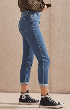 Mum Blue Mom Jeans