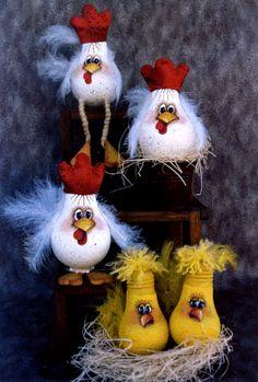 Chickens lightbulbs