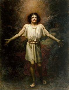 Rogelio de Egusquiza (1845-1915), Parsifal - 1910.