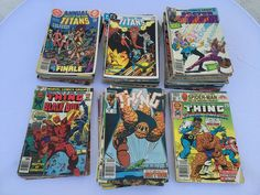 The Thing, The New Teen Titans, Doctor Strange Comic Book Lot (109 Books)