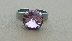 Check out this item in my Etsy shop https://www.etsy.com/listing/491345177/deep-pink-adjustable-ring-in-antique
