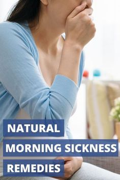 Suffering from morning sickness? These 5 all-natural morning sickness remedies will help you feel less nauseated in your first trimester. Healthy Pregnancy Tips, Pregnancy Health, Feeling Sick, How Are You Feeling, Natural Morning Sickness Remedies, Baby Life Hacks, Thing 1, First Trimester, Family Life