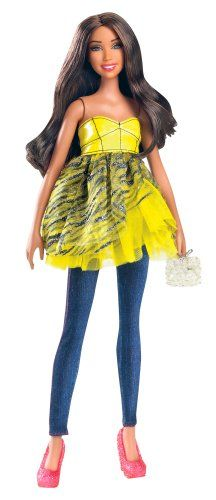Barbie All Dolled Up STARDOLL Brunette Doll Yellow Top Pink Shoes - Mix and Match Trendy, Original Fashions and Accessories Barbie http://www.amazon.com/dp/B0063NLR28/ref=cm_sw_r_pi_dp_FvIBub0SXXK39