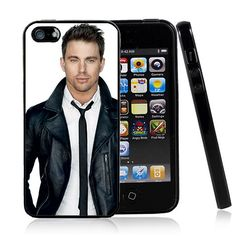 Channing Tatum iPhone 5 Case Defender TPU Sides and by TJKCustoms, $14.95