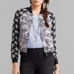 Free People Floral Baseball Jacket Gorgeous and new with tags jacket by Free People. Size XS. Retails for $148. Floral print, snap closure, long sleeves and baseball cut. Free People Jackets & Coats