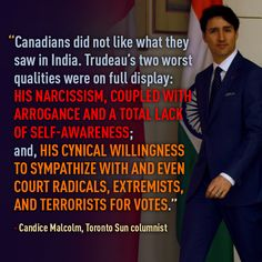"""""""... Trudeau's two worst qualities were on full display..."""""""