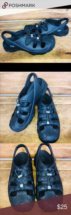511b60dffe6e Crocs Mens 11 Toggle Lace Up Water Sandals Shoes Crocs Mens 11 Toggle Lace  Up Water