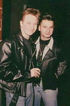 Alan Wilder & Dave Gahan  Of Depeche Mode †† 80's Icons
