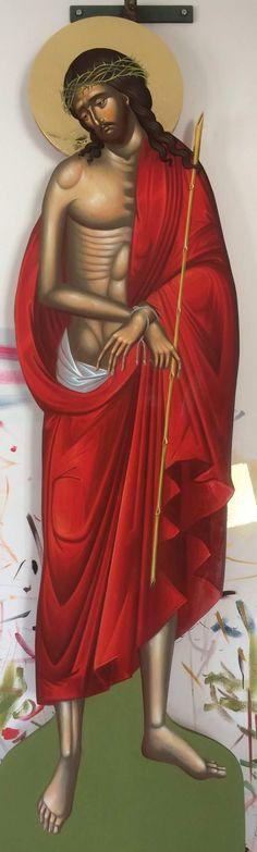 Byzantine Icons, Orthodox Christianity, Religious Icons, Crucifix, Ikon, Jesus Christ, Wonder Woman, Statue, Catholic Art