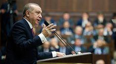 Erdoğan, partisinin grup toplantısında 'Batı ülkeleri de sürekli bize 'Afrin'e girmeyin' demeye utandıkları için olacak, 'Bir