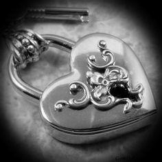 Key to My Heart Padlock Pendant by TrashAndTrinkets on Etsy Love this! I Love Heart, Key To My Heart, Happy Heart, Heart Art, Old Keys, My Funny Valentine, Valentines, Antique Keys, Heart Shapes