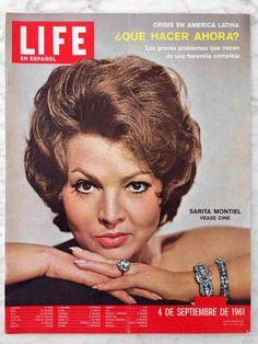 REVISTA LIFE EN ESPAÑOL - VOL. 18 - Nº 5 - 1961 - SARITA MONTIEL - Foto 1