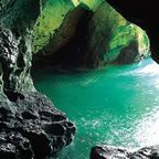 Rosh Hanikra, Israel.  This was such a gorgeous sight to see.