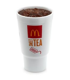 McDonald's Sweet Tea Here it is:    Boil 2 qts of water, when it's at a rolling boil take it off the heat and toss in 4 regular tea bags. Cover and let it steep for 1 hr. Add 1- 1 1/2 cup (I use 1 1/2 cause I like mine really sweet) of sugar to pitcher, pour in tea and mix. Put in fridge to cool and enjoy!