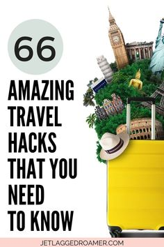 Get 66 effortless travel hacks to simply your travels! This post has very easy to follow packing travel hacks, airplane travel hacks and more that are super useful. Remove the anxiety from traveling with these best travel tips and tricks here! Travel Hacks // Travel Hacks Airplane // Travel Hacks Packing // Easy Travel Hacks // Easy Travel Hacks Packing Tips // Travel Tips And Tricks Suitcase Packing, Packing Tips For Travel, Travel Hacks, Best Travel Apps, Airplane Travel, Trip Planning, Need To Know, How To Plan, Amazing