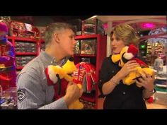 When it comes to great gifts for kids, you can't go wrong at the Disney Store!  Kristen shows off some of the big fun!