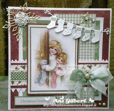 De kaarten van ons Mam: ...Christmas Greetings...