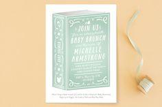 Storybook Shower Baby Shower Invitations by Jennifer Postorino at minted.com