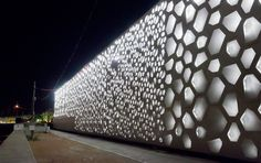 """The Ffçade """"C4"""" of the Contemporary Art Centre in Cordoba. Photo © Realities United l  STYLEPARK"""