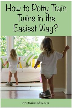 Is Potty training your twins easy or painful? You can be stress-free,if you grasp some simple tricks. Find out our lucid tips for potty training twins! Twin Toddlers, Toddler Twins, Toddler Potty, Toddler Stuff, Potty Training Girls, Nursery Twins, Elephant Nursery, Twin Tips, Raising Twins
