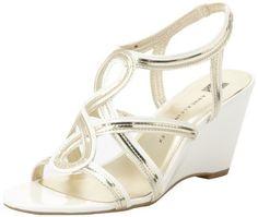 Ak Anne Klein Womens Parisa Wedge Sandal,Light Gold Multi,10 M US Anne Klein,http://www.amazon.com/dp/B00ANQG8SY/ref=cm_sw_r_pi_dp_4U.Drb102JFBJYT3